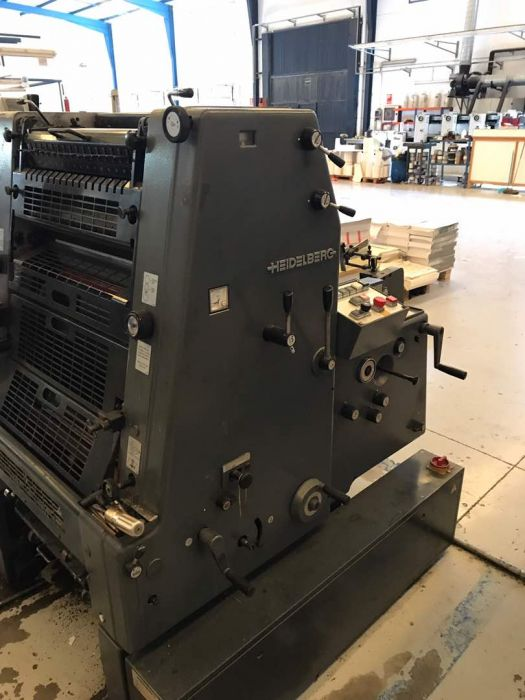 HEIDELBERG GTO52 sheetfed offset 1 color
