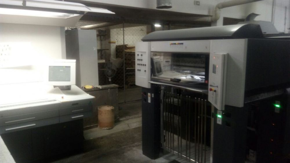 HEIDELBERG  CD 74-8 sheetfed offset 5 colors and +