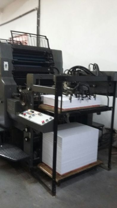 HEIDELBERG  MOFP sheetfed offset 5 colors and +