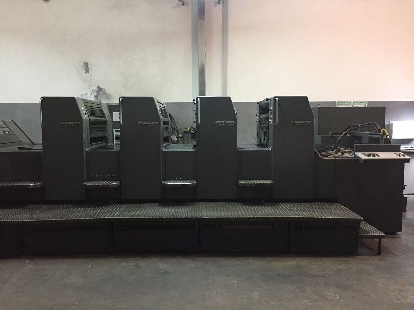 HEIDELBERG  SM 74-4 sheetfed offset 4 colors