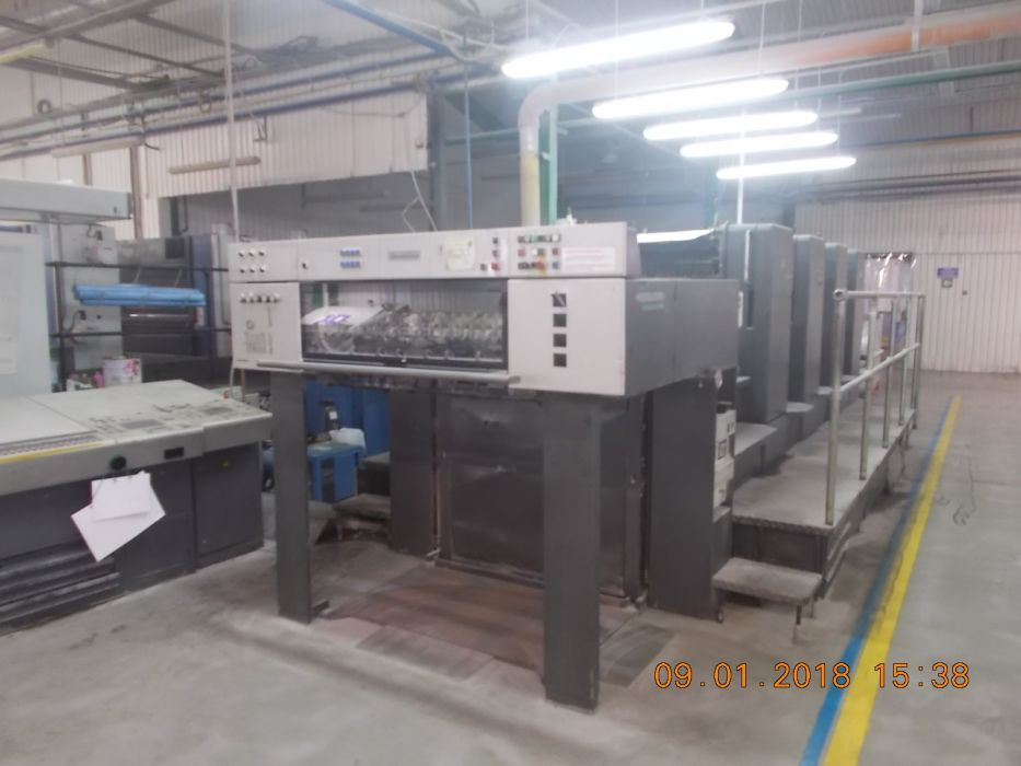 HEIDELBERG SM 102-4 sheetfed offset 4 colors