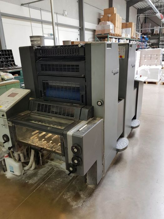 HEIDELBERG CD 74-5P-H sheetfed offset 5 colors and +