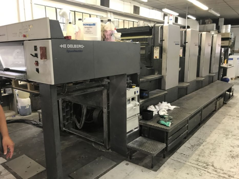 HEIDELBERG SM 102-4P  sheetfed offset 4 colors