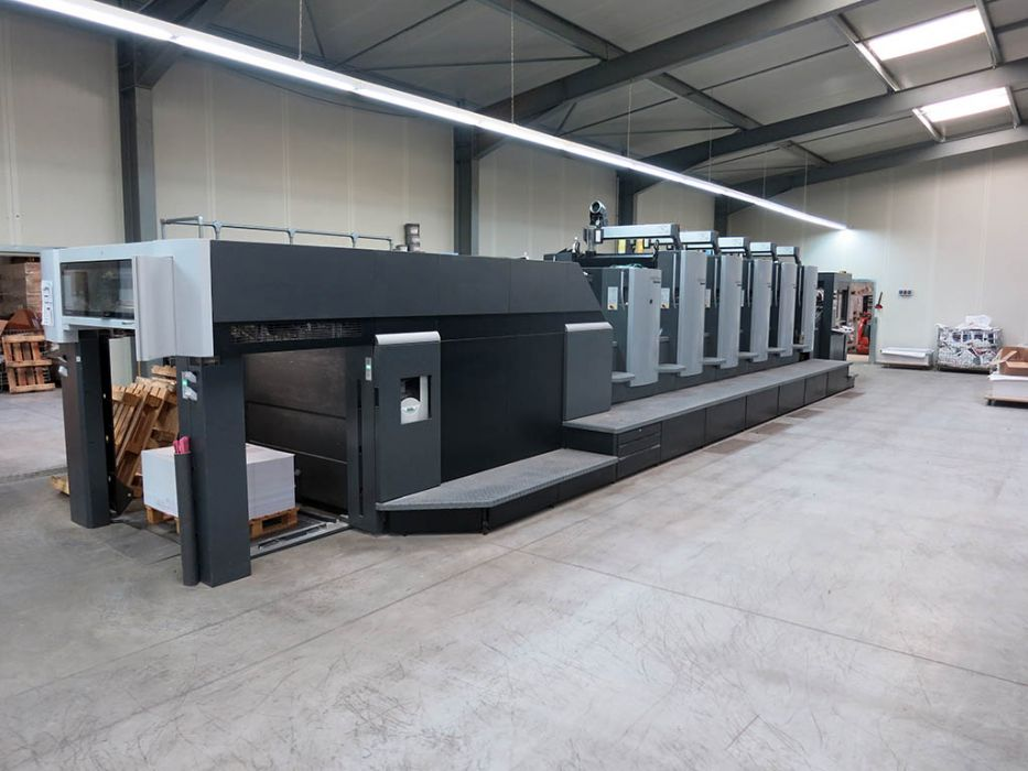 HEIDELBERG SM 74-5-P2  sheetfed offset 5 colors and +