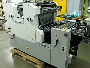 HEIDELBERG SM 72 ZP sheetfed offset 2 colors