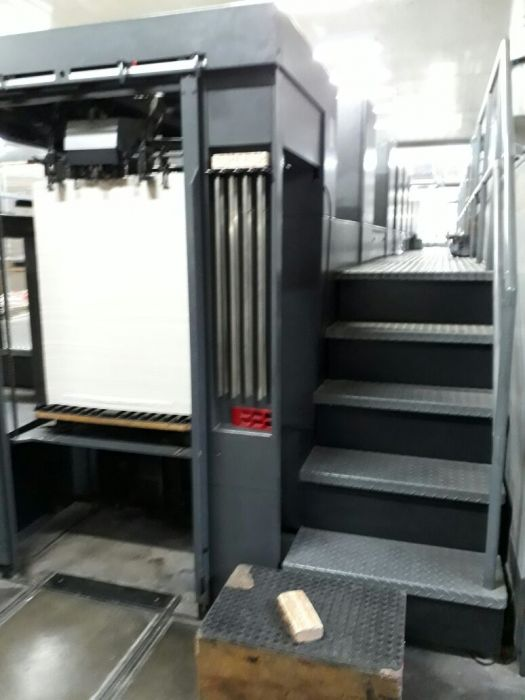 HEIDELBERG CD 74 sheetfed offset 5 colors and +