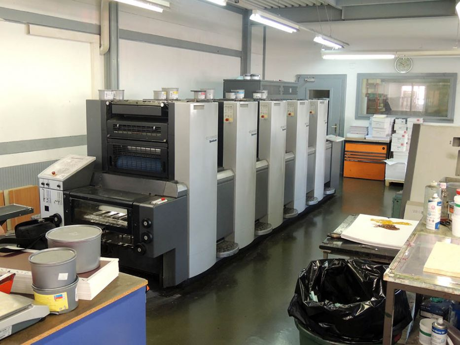 HEIDELBERG  SM 52 - 5 sheetfed offset 5 colors and +