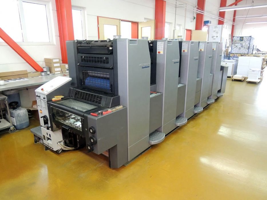 HEIDELBERG  SM 52 - 5 P sheetfed offset 5 colors and +