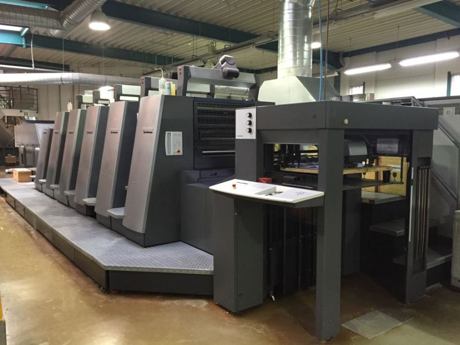 HEIDELBERG  CD 74 - 5 + L X sheetfed offset 5 colors and +