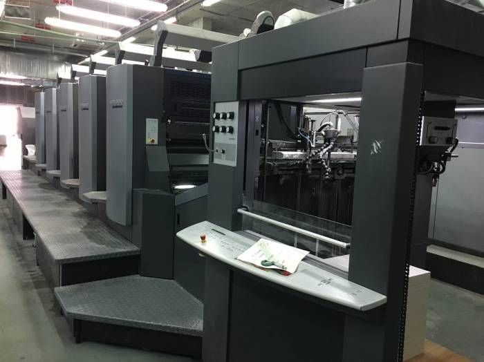 HEIDELBERG  CD 102-5  sheetfed offset 5 colors and +
