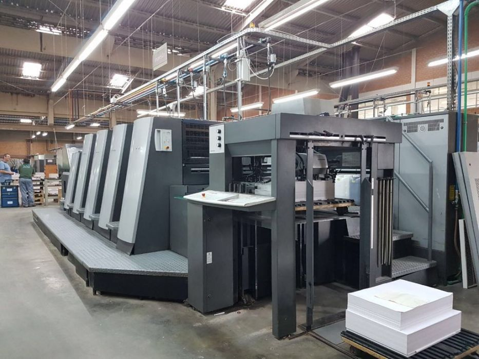 HEIDELBERG  XL 75  sheetfed offset 4 colors