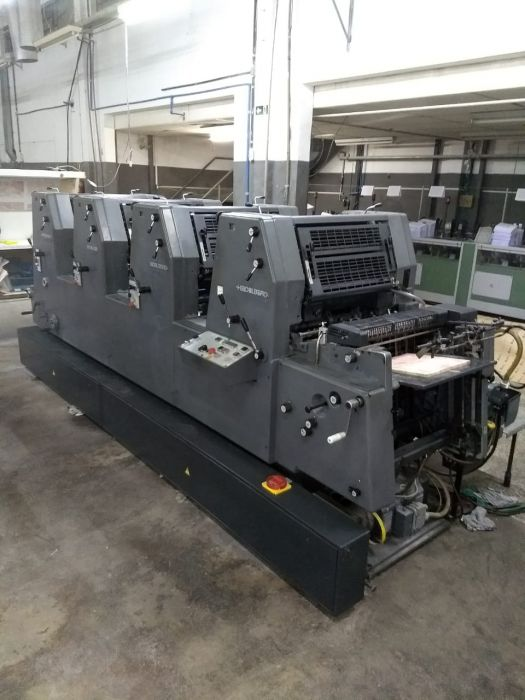 HEIDELBERG GTO 52 sheetfed offset 4 colors