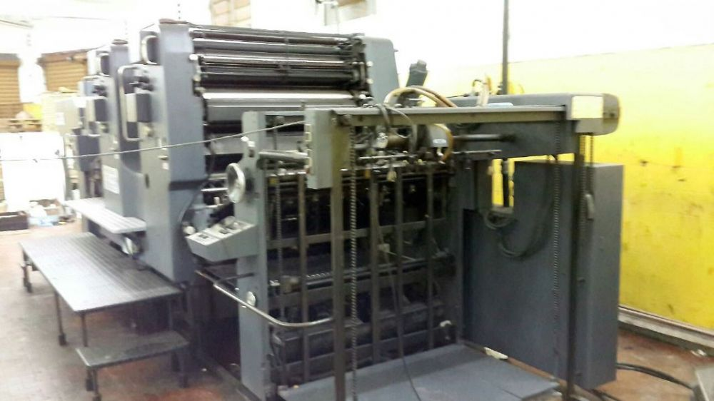 HEIDELBERG 102-2P sheetfed offset 2 colors