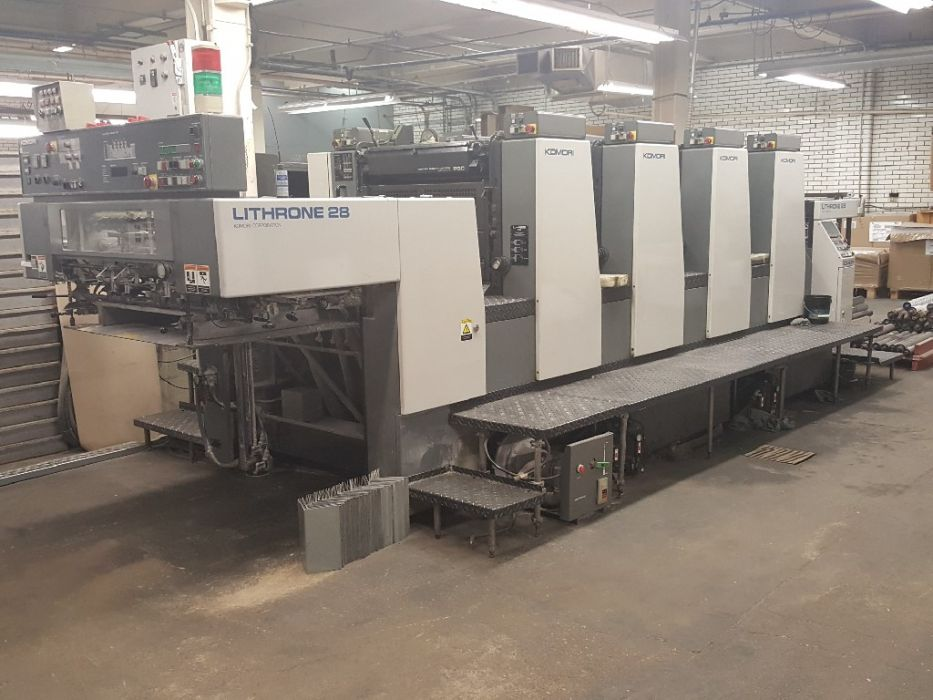 KOMORI LITHRONE 428 sheetfed offset 4 colors
