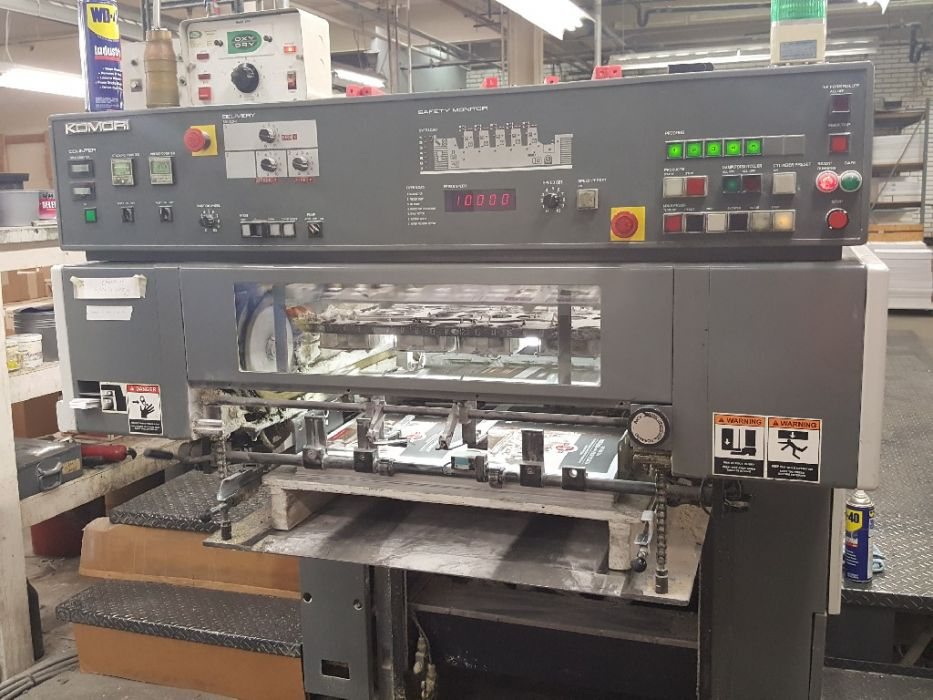 KOMORI 526 sheetfed offset 5 colors and +