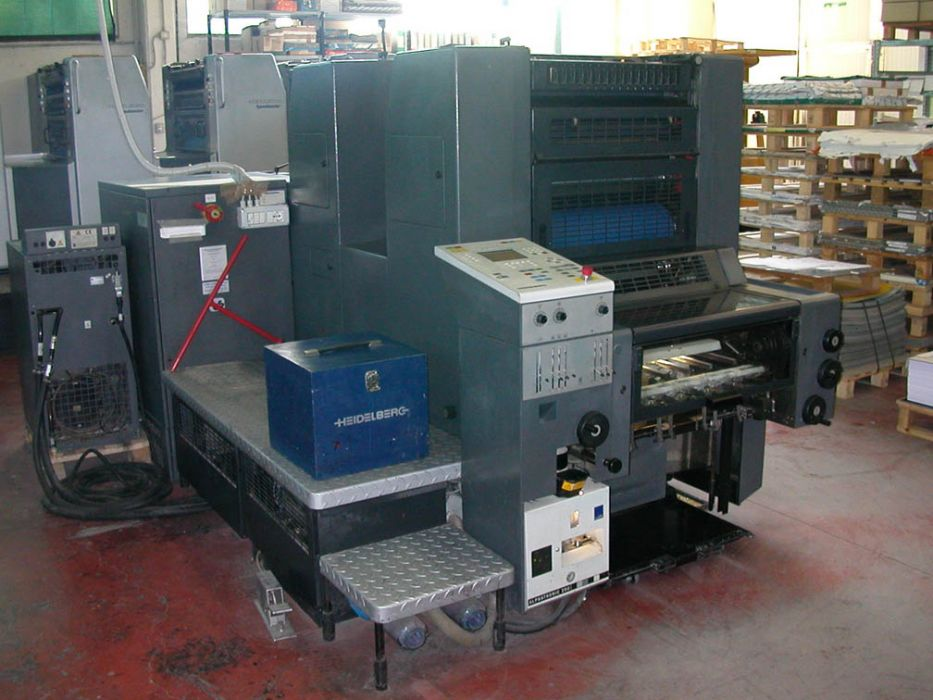 HEIDELBERG SM 52-2 sheetfed offset 2 colors