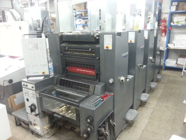 HEIDELBERG PRINTMASTER PM 52-4 sheetfed offset 4 colors