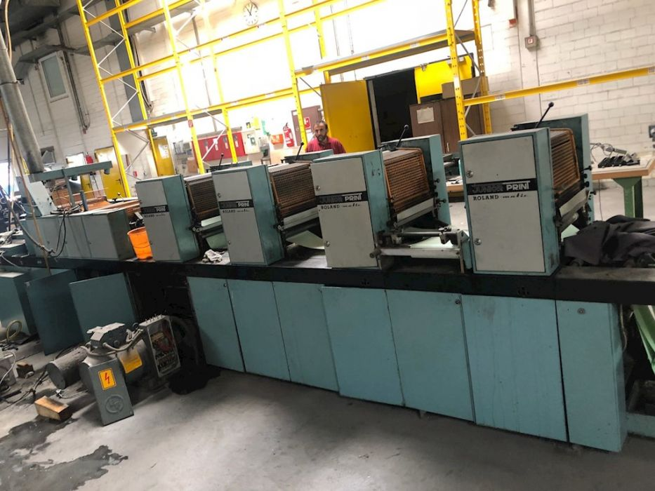 Heidelberg MOVP sheetfed offset 4 colors
