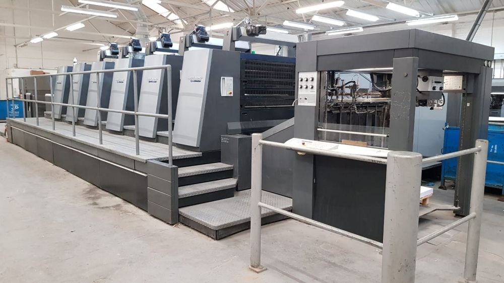 HEIDELBERG XL 105-5 + LX sheetfed offset 5 colors and +
