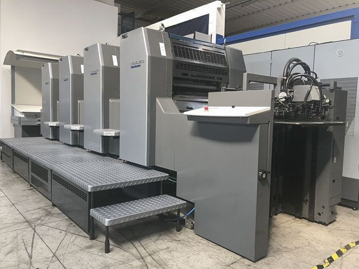 HEIDELBERG SM74-4P sheetfed offset 4 colors