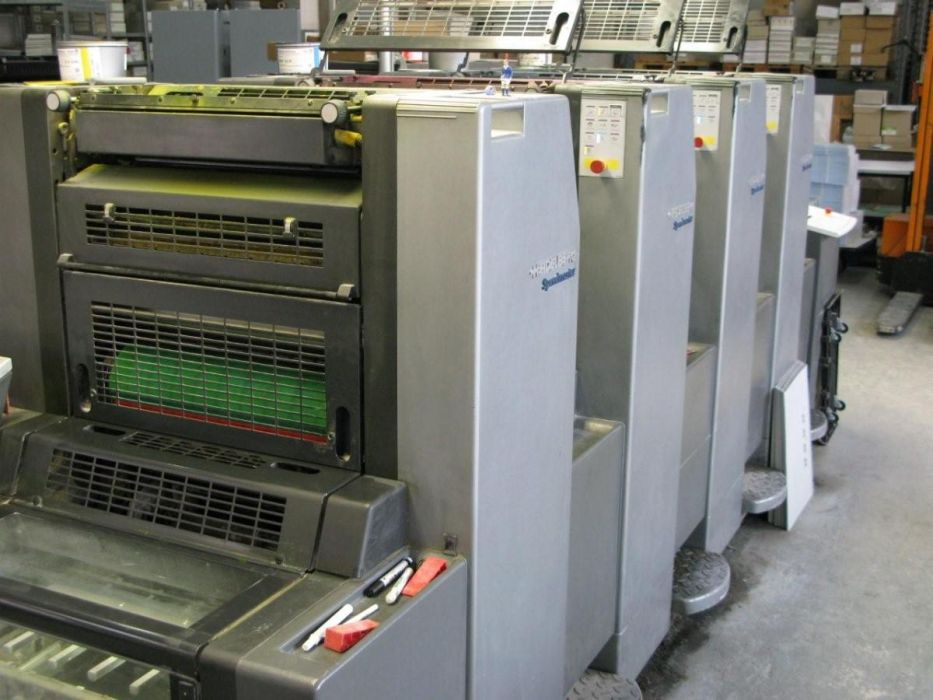 HEIDELBERG  SM 52-4 sheetfed offset 4 colors