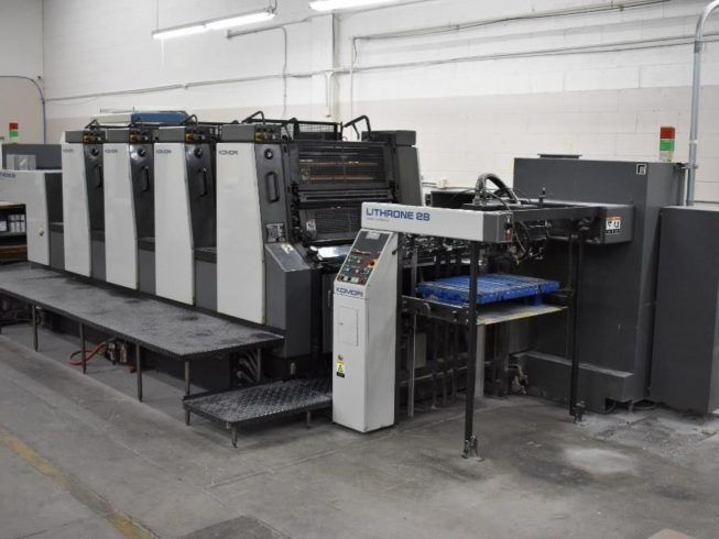 KOMORI  L428ES  sheetfed offset 4 colors
