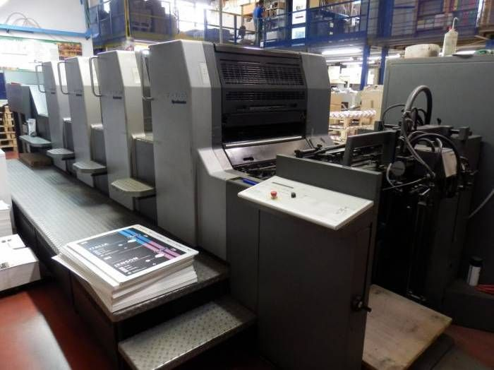 HEIDELBERG SM 74-4P-H  sheetfed offset 4 colors