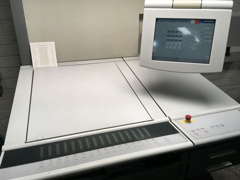 HEIDELBERG SM 52-4 2005 sheetfed offset 4 colors