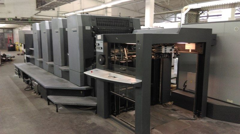 HEIDELBERG SM 102-4P3 sheetfed offset 4 colors