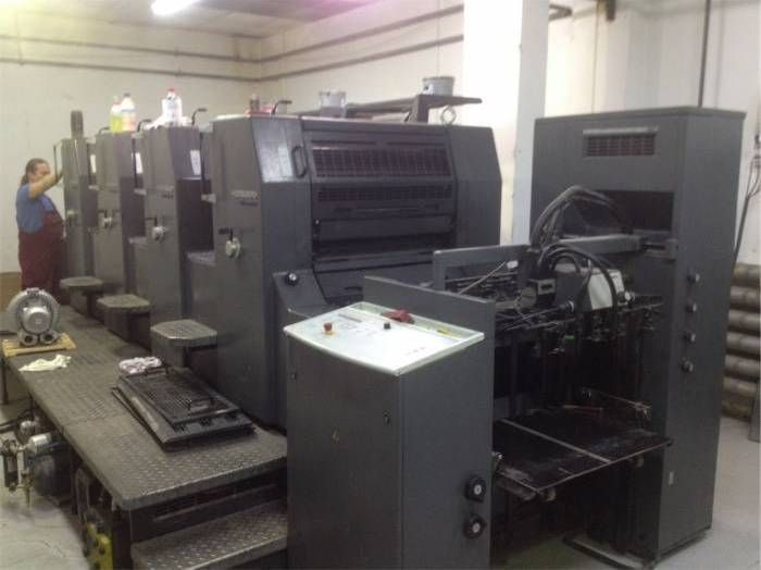 HEIDELBERG  PM 74-4  sheetfed offset 4 colors
