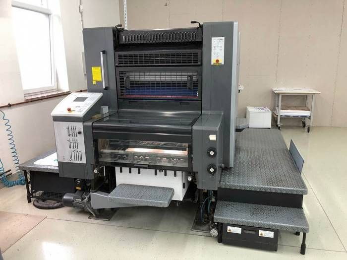 HEIDELBERG  SM 74 - 2 P sheetfed offset 2 colors