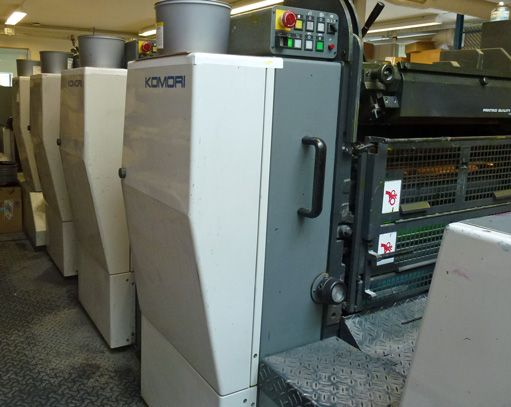 KOMORI 428 EM sheetfed offset 4 colors