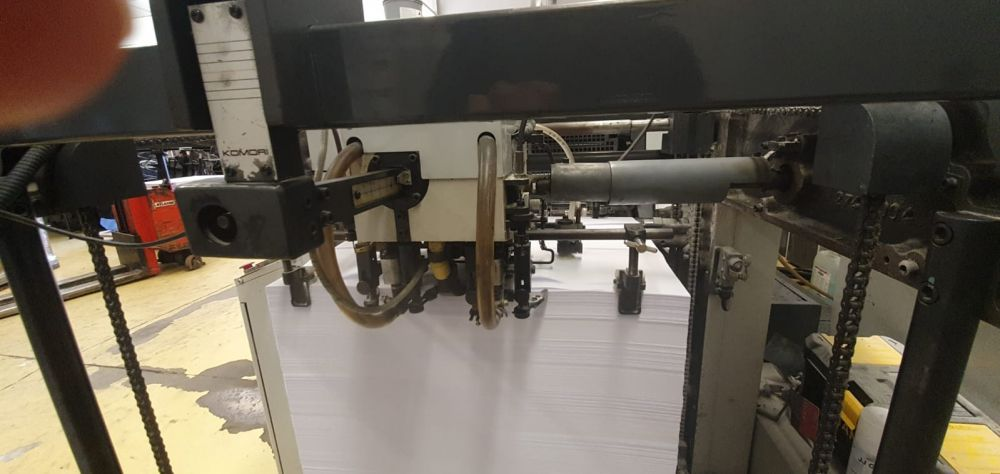 KOMORI LS-540P H sheetfed offset 5 colors and +