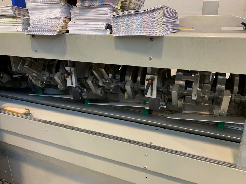 MBT  MBT 20  booklets collator