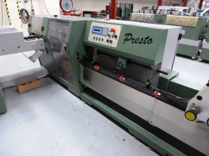 MULLER MARTINI PRESTO saddle stitcher