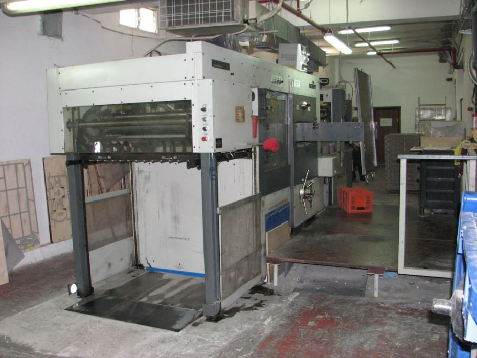 BOBST BOBST SP 102 E die-cutter