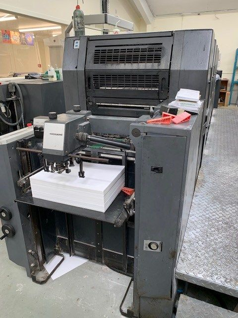HEIDELBERG SM 52 5P2 H sheetfed offset 5 colors and +
