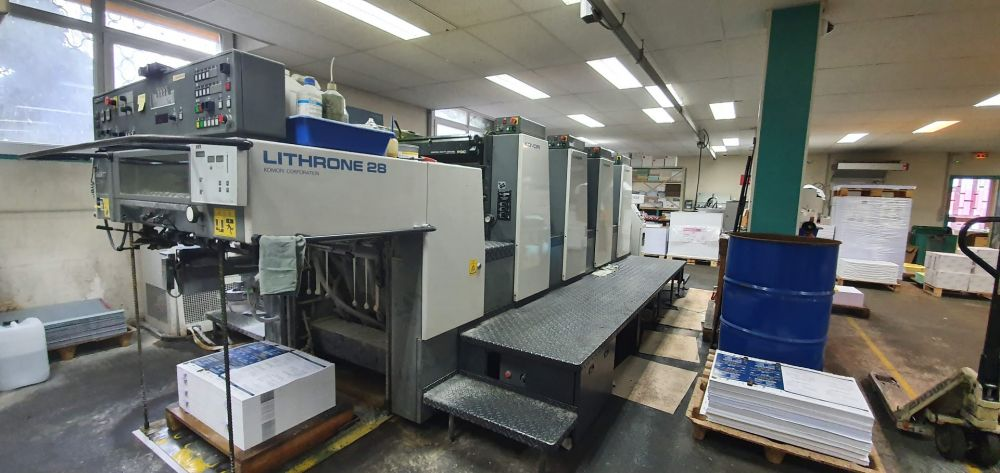 KOMORI LITHRONE L-428 ES sheetfed offset 4 colors