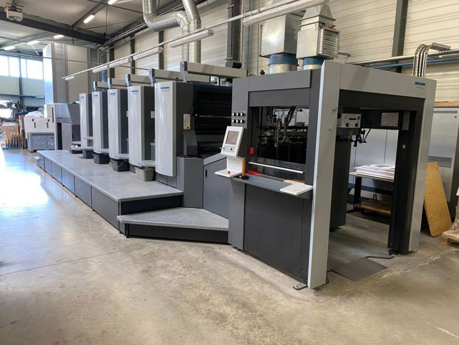 HEIDELBERG CX  HEIDELBERG CX 102 -  sheetfed offset 5 colors and +