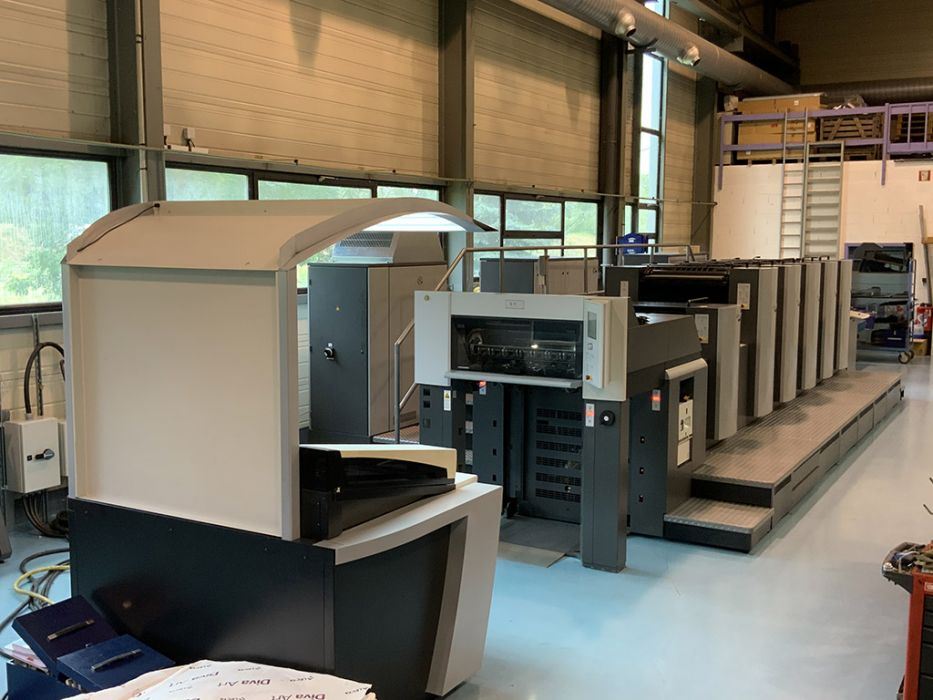 HEIDELBERG SM 74 - 5 HEIDELBERG SM 74 - 5 sheetfed offset 5 colors and +