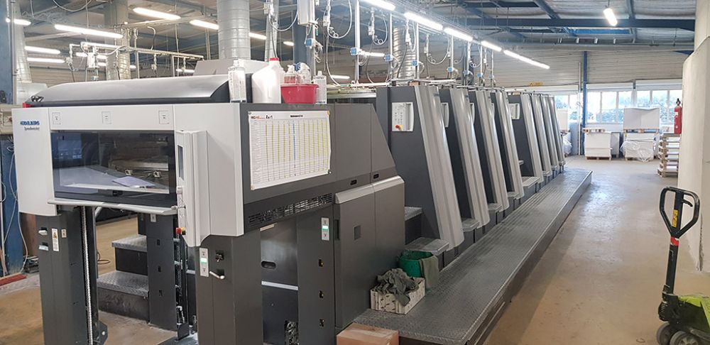 HEIDELBERG X L 75 -  HEIDELBERG X L 75 -  sheetfed offset 5 colors and +