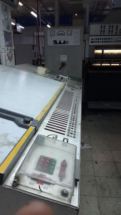 HEIDELBERG SM 74-5PH+L sheetfed offset 5 colors and +