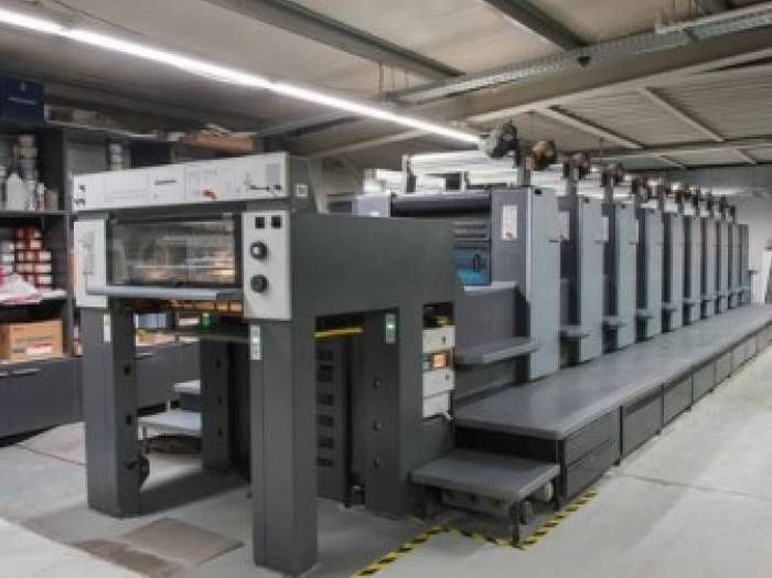 HEIDELBERG  SM 74-10 PH sheetfed offset 5 colors and +