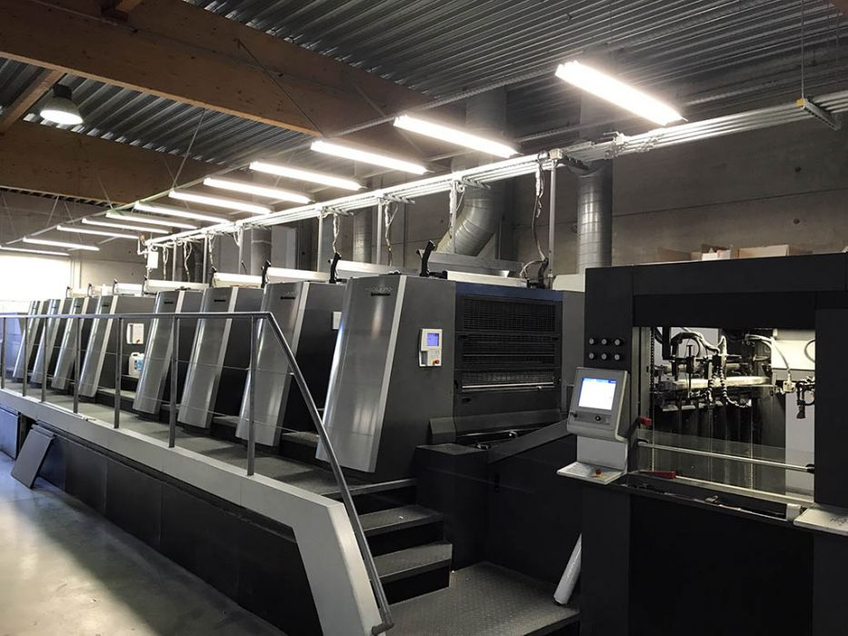 HEIDELBERG  XL 106 - 8P  sheetfed offset 5 colors and +