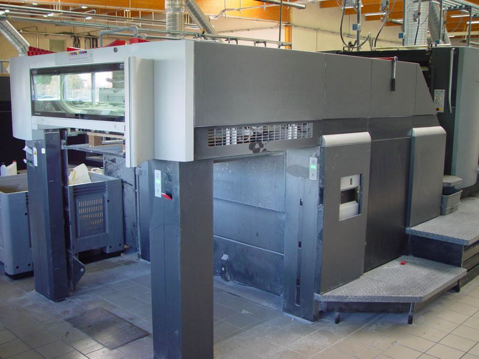 HEIDELBERG SM 102-8-P-S sheetfed offset 5 colors and +