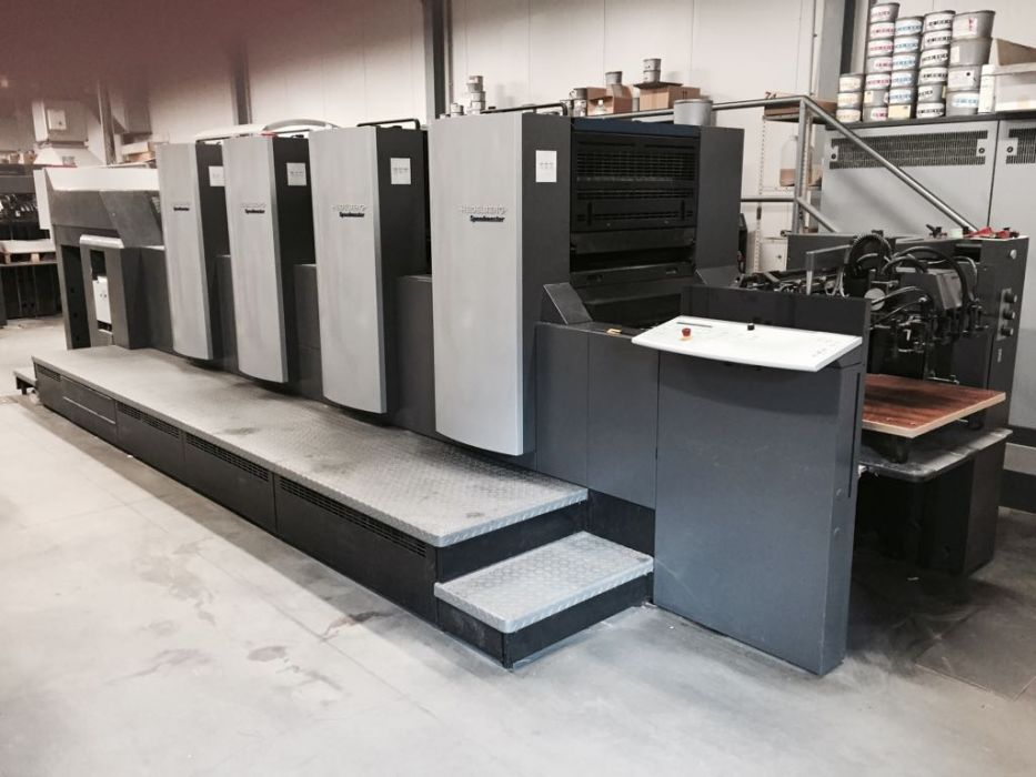 HEIDELBERG  SM 74 - 4 P H sheetfed offset 4 colors