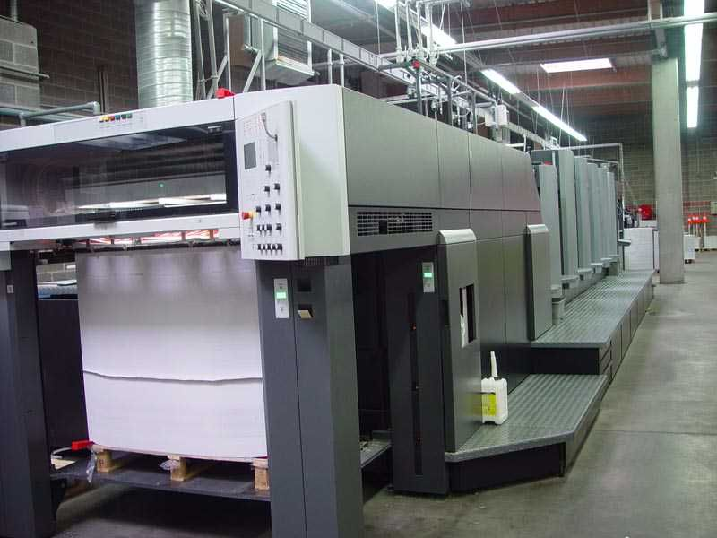 HEIDELBERG CD 102 5 LX sheetfed offset 5 colors and +