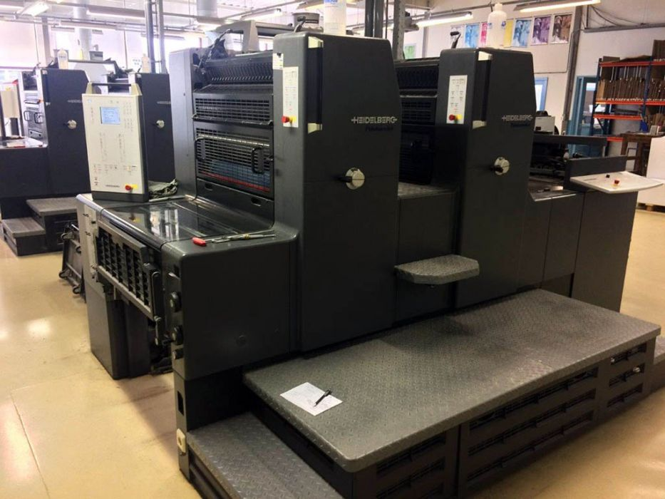 HEIDELBERG PM 74 - 2 sheetfed offset 2 colors
