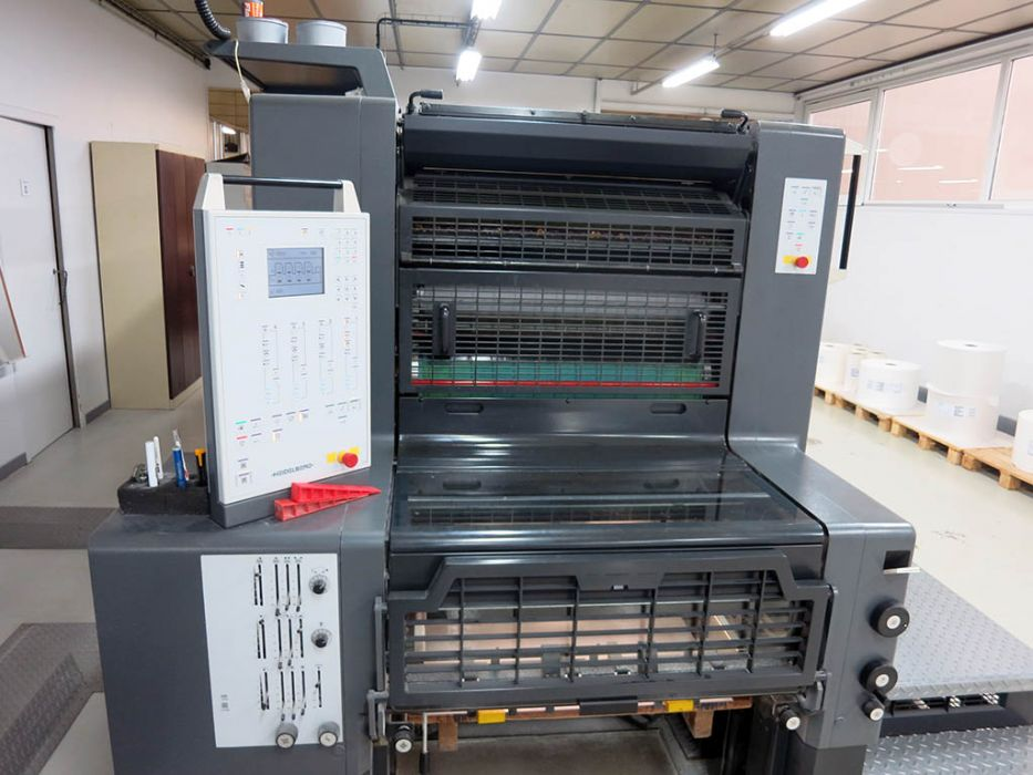 HEIDELBERG  PM 74 - 4 sheetfed offset 4 colors
