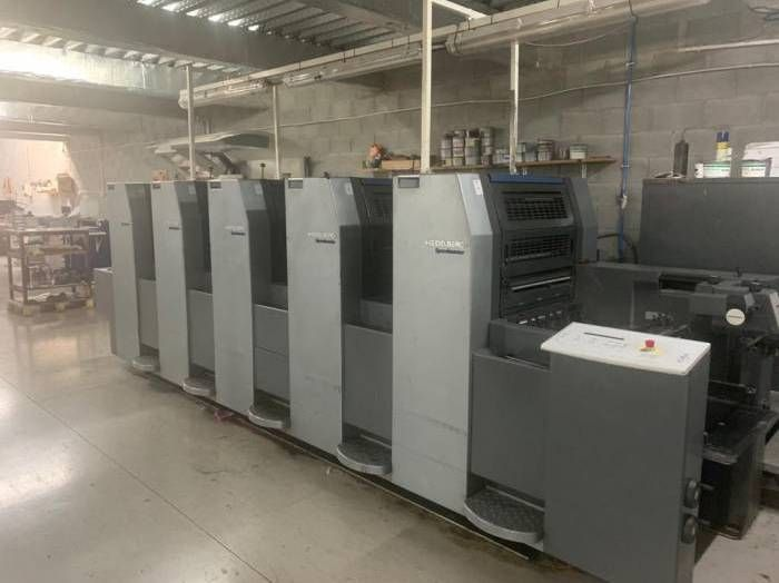 HEIDELBERG SPEEDMASTER  sheetfed offset 5 colors and +